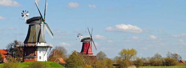 Sielmühle_Ferienwohnung in Ostfriesland