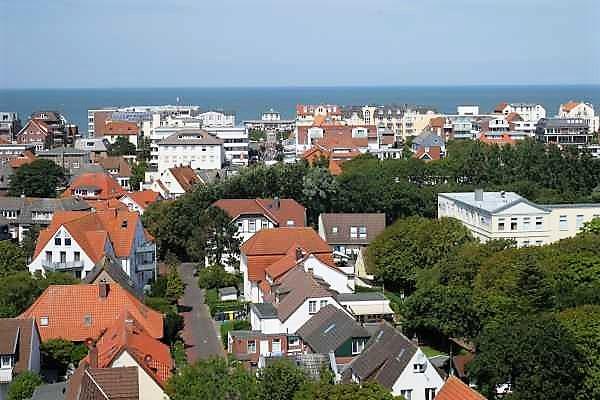 Ausblick auf Wangerooge