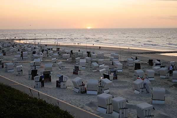 Sonnenuntergang Wangerooge